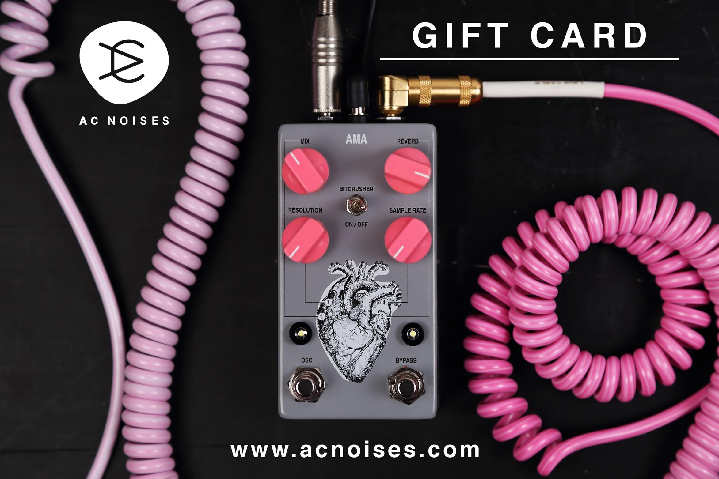 AC noises Gift Card